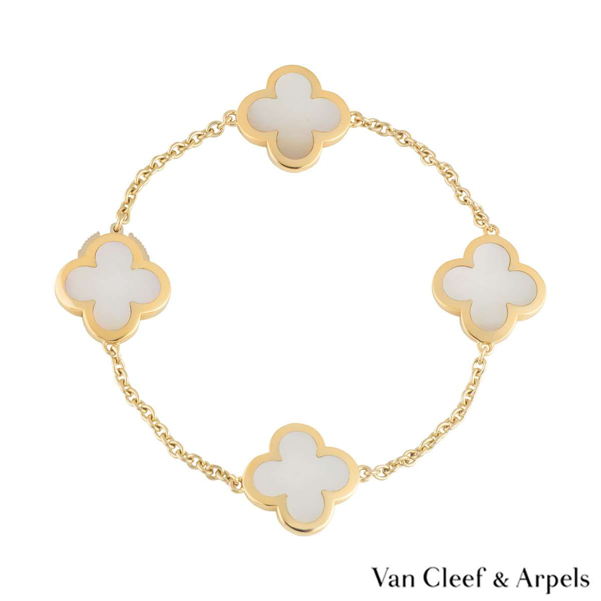 Van Cleef & Arpels Yellow Gold Alhambra Bracelet VCARA36300